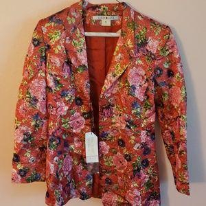 NWT Luca Luca floral blazer